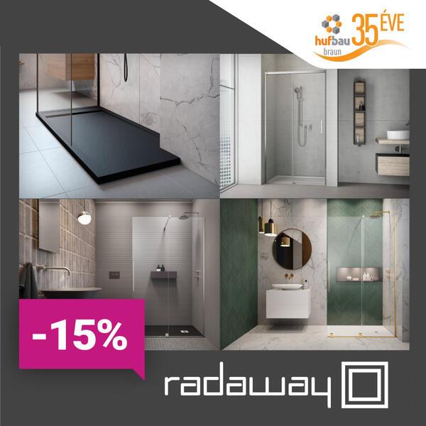 Radaway Furo és Gold zuhanykabin -15%