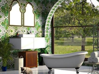 fürdőszobából otthoni spa