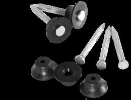 Masterplast Terraplast Plus Ac Rögzítőszeg és gomb drénlemez rögzítéséhez