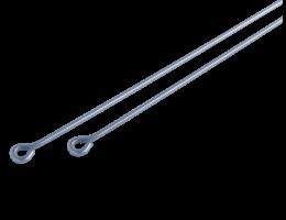 Szemes függesztő huzal (125 mm – 2000 mm)