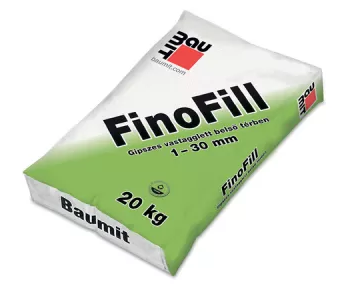Baumit FinoFill beltéri gipszes glettvakolat (1-30 mm)
