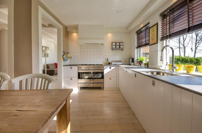 laminált padló a konyhába