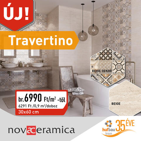 Nova Ceramica Travertino