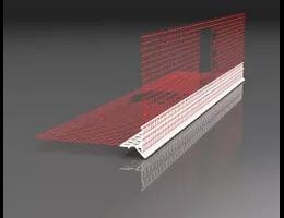 Baumit Vízorros sarokvédő profil 2,5 fm