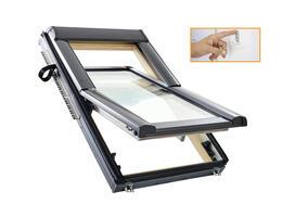 Roto Designo R6 H WD fa tetőtéri ablak falikapcsolós kivitelben