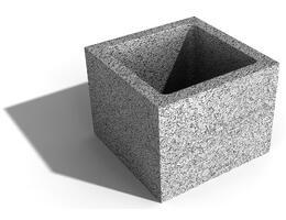 Leier beton Pillérzsaluelem, oszlopzsalu