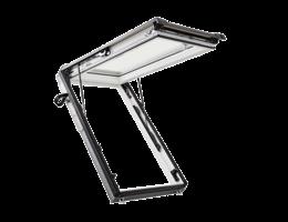 Designo R8 felnyíló menekülőablak teleszkóppal 2- vagy 3-rétegű üveggel fából/műanyagból
