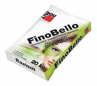 Baumit FinoBello gipszes glettanyag (0-10 mm) 20 kg