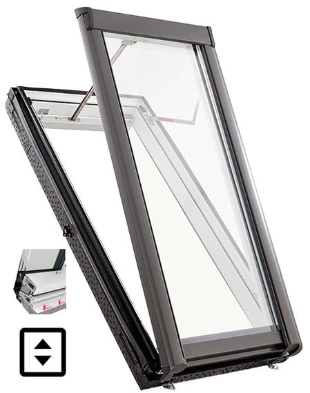 Designo R5  WRA R5 K WD műanyag kivitel füstelvezető tetőtéri ablak